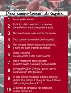 Dieci comportamenti da seguire