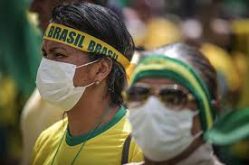 mascherine anche in Brasile