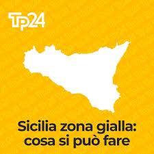 la Sicilia in bilico tra bianco e giallo